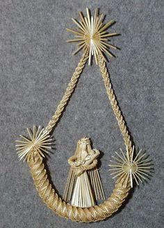 Faragóné Kati kezéből - Képgaléria - Szalmából készültek - Szalma díszek