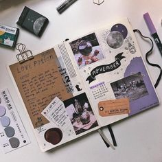 Inspired ✍🏻s Journal inspiration 💫 images from the web Bullet Journal Lettering Ideas, Bullet Journal Banner, Bullet Journal Notebook, Bullet Journal School, Bullet Journal Ideas Pages, Bullet Journal Inspiration, Art Journal Pages, Art Journal Challenge, Sketch Journal