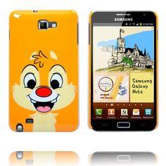 Happy Cartoon Ver. 2 (Jordekorre) Samsung Galaxy Note-Skal