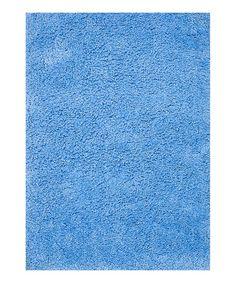 Blue Hera Shag Rug | zulily