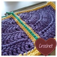 "How to Join Crochet Squares - Completely Flat ""Zipper"" Method - Look At What I Made"