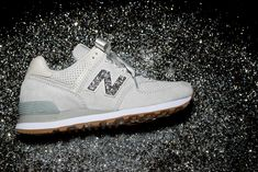 509eba346438a New Balance Lifestyle just released a limited 574 with crystals from  Swarovski that are available in 12 neutral color tones with the ability to  adorn the ' ...