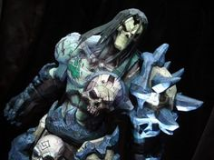 Darksiders II - Death - Papercraft - This is totally badass awesome.