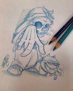 Sketchouille  #ozer #ozertattoo #ozergraffiti #ozerloveletters #ironink…