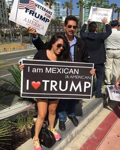 These people have a brain. Must have come here LEGALLY! Since they voted Trump, they MUST be angry, white men! Trump Is My President, Vote Trump, Pro Trump, President Quotes, I Love America, God Bless America, Meryl Streep, Caricatures, Donald Trump