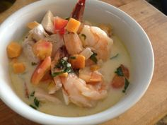 Caribbean fish stew