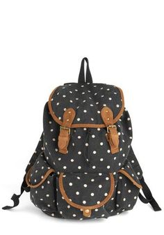 I love backpacks!  This is adorable Polka Dot Backpack