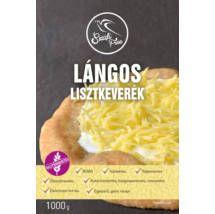 Szafi Free Lángos lisztkeverék 1000g (gluténmentes, tejmentes, tojásmentes, maglisztmentes, élesztőmentes, vegán)