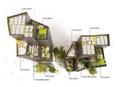 Project: Colville Estate Hackney Revit Architecture, Landscape Architecture, Environmental Design, Urban Design, Drawing Sketches, Design Projects, Towers, Architects, Cgi