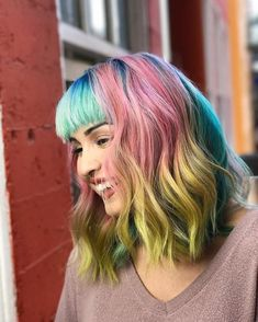 Find out how you can create your very own rainbow hair color by using really cheap and simple ingredients if you are feeling creative and on a budget.