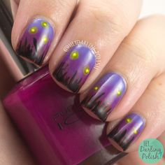 Hey, Darling Polish: 52 Week Challenge - 3 Color Gradient + Pink (inspired by Chalkboard Nails) Sky Nails, Gradient Nails, Gradient Color, 52 Week Challenge, Chalkboard Nails, Flower Nail Art, Holiday Nails, All Things Beauty, How To Do Nails