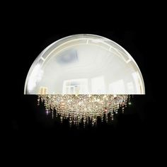 Magnificent Chandelier with Gittering Suspended Crystals - My Modern Metropolis