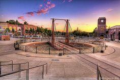 Folsom Railroad Turntable (Dusk) - Old Town Folsom - California | Flickr - Photo Sharing!