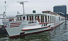 MS Casanova Docked at Amsterdam