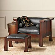 Maria Yee Cambria Chair & Ottoman - I think I might be able to make this :)