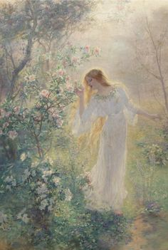 Summer - Rene Gerin 19th century