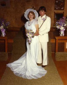 1970s+wedding | 1970s Wedding Dress Wedding dresses weren't