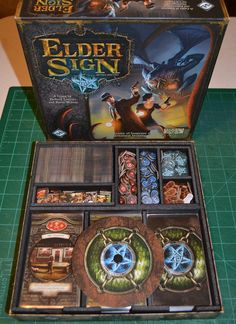 This insert is designed for the base game and the Gates of Arkham expansion. Please note that per the Gates of Arkham rules, many of the cards from previous sets have been replaced. Thus, this insert