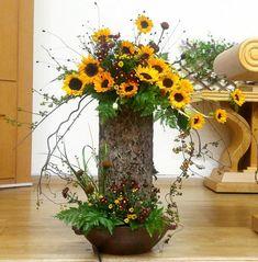 Flower Arrangement Designs, Floral Arrangements, Flower Chart, Rustic Wedding Flowers, Altar Decorations, Floral Wreath, Wreaths, Fall, Plants