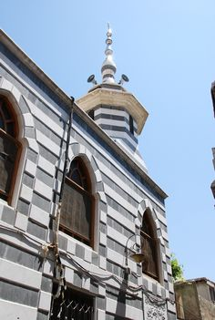 Damascus - Black and White Mosque | von zishsheikh