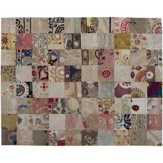 Golran Patchwork Suzany 24 Carpet (9.475 BRL) ❤ liked on Polyvore featuring home, rugs, red, vintage rugs, patchwork area rug, vintage patchwork rug, colored rugs and red area rugs