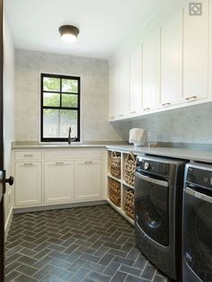 Modern Navy Laundry Room Reveal | Pinterest | Mud rooms, Laundry and ...