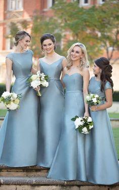 9058 Classic Chic Bridesmaid Dress by Sorella Vita