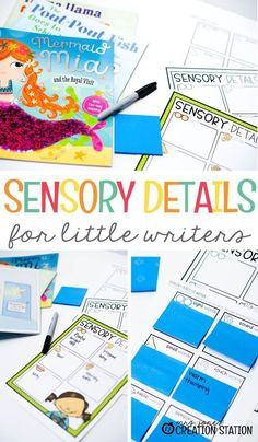 Your little writers have created a great story, but it needs something else to make it even better! My sensory detail map is perfect for extra details! Literacy Games, Learning Activities, Teaching Resources, Classroom Resources, Homeschooling Resources, Teaching Ideas, Preschool Literacy, Writing Resources, Educational Activities