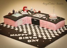 189 Best Kitchen Cakes Images Amazing Cakes Chef Cake Cookies