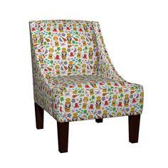 Venda Sloped Arm Chair featuring Aloha Hawaii, kawaii Hawaiian boys and girls in…