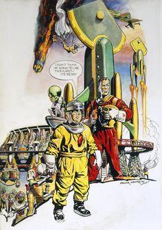 Dan Dare by Frank Hampson 1950
