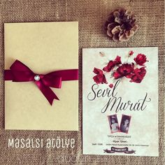 Masalsı Atölye - İstanbul Düğün Davetiyesi
