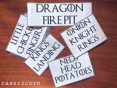How to throw a Game of Thrones themed Party like I did. I share some tips and tricks to host a Feast for Crows even if you are on a budget. Happy Name Day, Happy Names, Dragon Fire Pit, A Feast For Crows, Game Of Thrones Party, Dungeons And Dragons Dice, Dragon Dies, Got Party, Little King