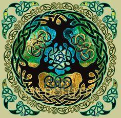 Yggdrasil-World-Tree-by-Jen-Delyth