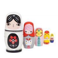 Fleur & Friends Nesting Dolls