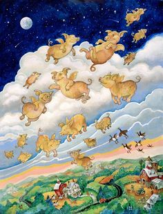 If Pigs Could Fly by Bill Bell