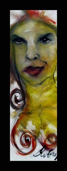 Kelli Dubay Original Fine Art Oil Painting by Megalomaniart, $200.00