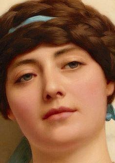 John William Godward (British, 1861–1922) Title: Eurypyle , 1920