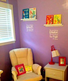 Dr. Seuss Girls Nursery Love It!