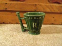 Vintage Coricidin Ceramic Rx Mug Schering by doyourememberwhen