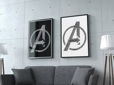 Excited to share the latest addition to my #etsy shop: avengers svg, avengers print, jpeg prints, superhero poster, superhero prints, white text, digital download, EPS, SVG, JPEG http://etsy.me/2BYZkGT #art #print #digital #white #housewarming #black #avengerssvg