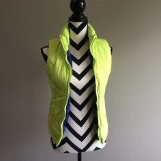 Lime green vest Great condition Aeropostale Jackets & Coats