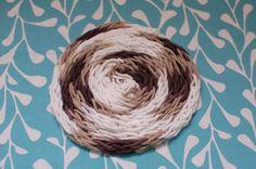 finger knit a giant rug...
