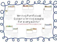 Writing Portfolio For Every Month!!!