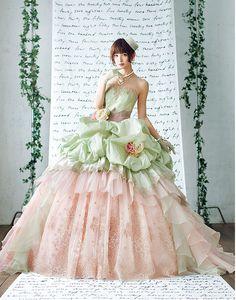 Mariko Shinoda - Love Mary wedding collection  http://www.kuraudia.co.jp/love_mary/collection.html