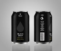 i like the idea of a black can.  night sky perhaps? but with some vivid colors so that it pops off the shelf