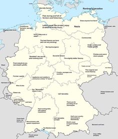 map of germany with states and cities germany pinterest city