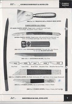Paring knives / George Barnsley