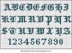 I want to thank Valérie bleudecroix for providing the Easy Cross files = + + + + + Loom Patterns, Cross Stitch Patterns, Easy Cross, Cross Stitch Alphabet, Sewing Art, Maker, Letters And Numbers, Couture, Needlework