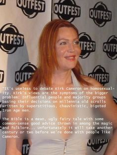 Calpernia Addams - Born in Tennessee, Calpernia is a strong supporter of hate crime laws.  She is also an activist helping to bring trans-rights and to correct misinformation regarding transpeople.